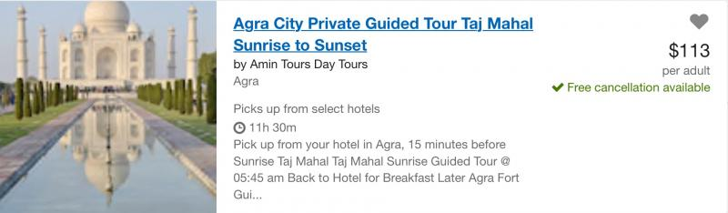 Agra City Guided Tour